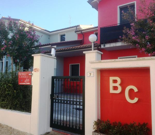Entrata - Borgo Cannullo